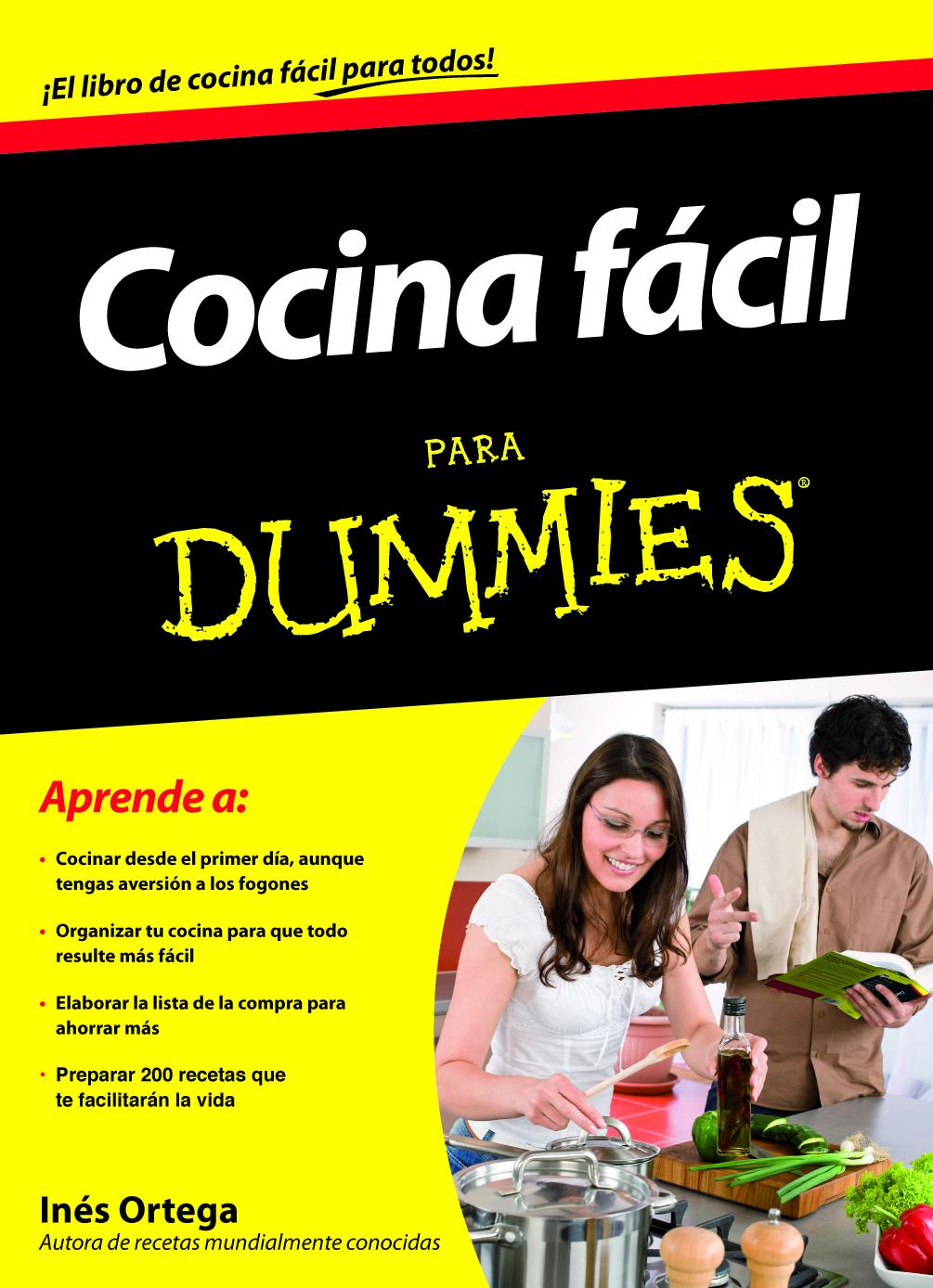 cocina f cil para dummies agencia literaria schavelzon